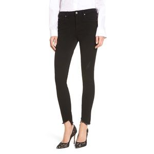 Leith Step Hem Skinny Jeans [28]